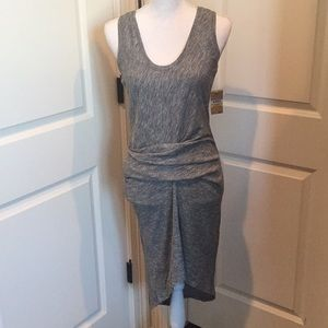 Rachel Roy May Heather Grey Dress size m NWT